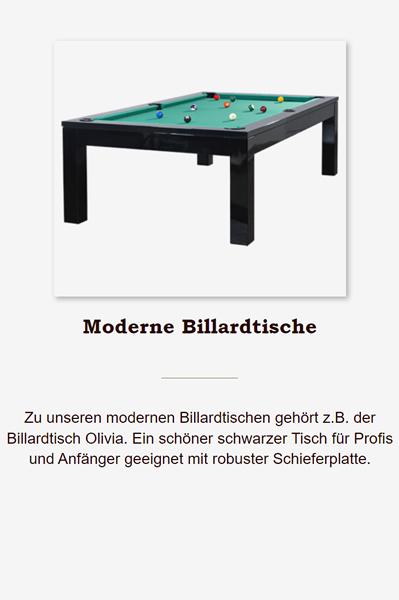 Moderne-Billardtische in 25421 Pinneberg